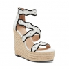 MONICA SH  WEDGES IN WHITE