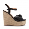 MINDY SH  WEDGES IN BLACK