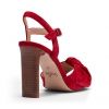 MIMI SH  SANDALS IN RED