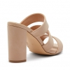 MULEY HEELS IN NUDE