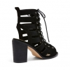 LUMIO HEELS IN BLACK