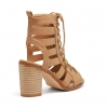 LUMIO HEELS IN CAMEL