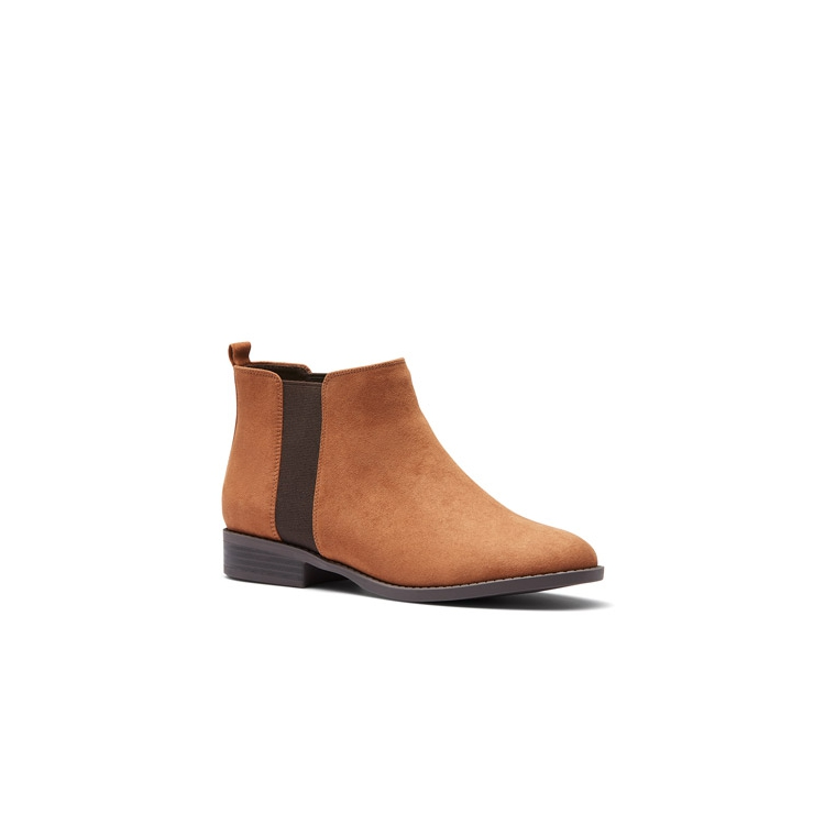 DACONO  BOOTS IN TAN