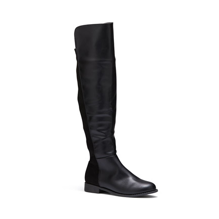 JANELLE  BOOTS IN BLACK