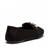 CALVINA FLATS IN BLACK