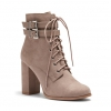 DISCOVERY  BOOTS IN TAUPE