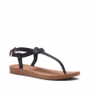 SACABA FLATS IN BLACK SNAKE