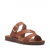 SAGA  THONGS IN TAN