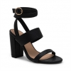MACKAY HEELS IN BLACK