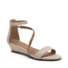 BREANNA WEDGES IN NUDE