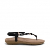 SPENCER  SANDALS IN BLACK