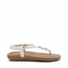 SPENCER  SANDALS IN WHITE