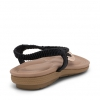 SHA FLATS IN BLACK