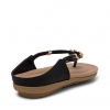 SERAFIN FLATS IN BLACK