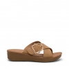 QATAR WEDGES IN CAMEL