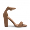 LORA  SANDALS IN DARK CAMEL