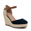 BLITHS  WEDGES IN NAVY