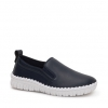CHARLY  CASUAL IN NAVY PEBBLE