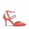 FELTON PUMPS IN CORAL