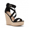 WESTERN WEDGES IN BLACK