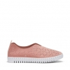 CHASEY FLATS IN BLUSH