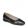 ALYA FLATS IN PEWTER