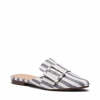 CALVI FLATS IN NAVY STRIPE