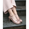 ELISO PEEP TOE IN BLUSH