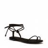 SANDRE FLATS IN BLACK