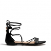 TOVE FLATS IN BLACK