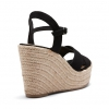 BRIARROSE WEDGES IN BLACK