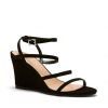 BRAZZEN WEDGES IN BLACK