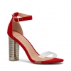ZAINA HEELS IN CHERRY