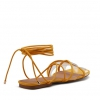 ZYLON HEELS IN MARIGOLD