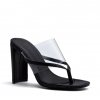 ORIO HEELS IN BLACK