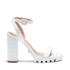 VULT HEELS IN WHITE