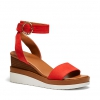 BRYCE  WEDGES IN CORAL
