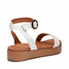 BRYNLEE  SANDALS IN WHITE