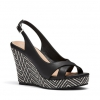 BECKA WEDGES IN BLACK