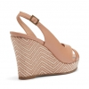 BECKA WEDGES IN NUDE