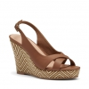 BECKA WEDGES IN TAN