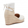 BLESSE WEDGES IN WHITE