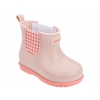 PLAID BOOT BABY GRENDENE IN LT PINK