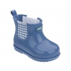 PLAID BOOT BABY GRENDENE IN BLUE