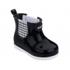 PLAID BOOT BABY GRENDENE IN BLACK