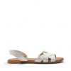 TETRA FLATS IN WHITE