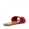 SILHOUETTE FLATS IN CHERRY CROC