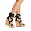 WINDERMERE WEDGES IN BLACK
