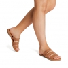 ZARRA FLATS IN TAN
