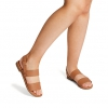 ZEEZEE FLATS IN TAN